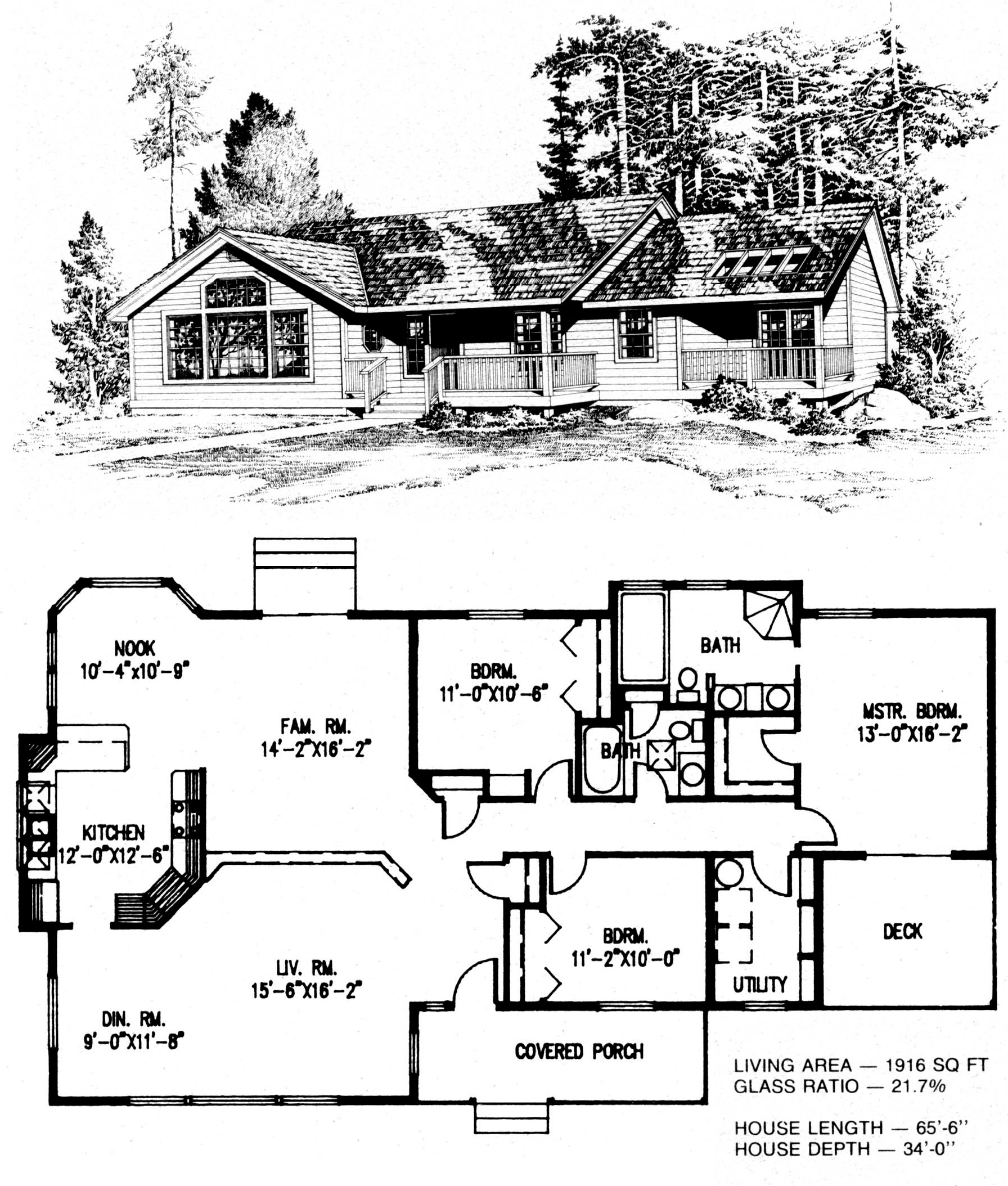 Traditional basic series for 221 armstrong floor plans