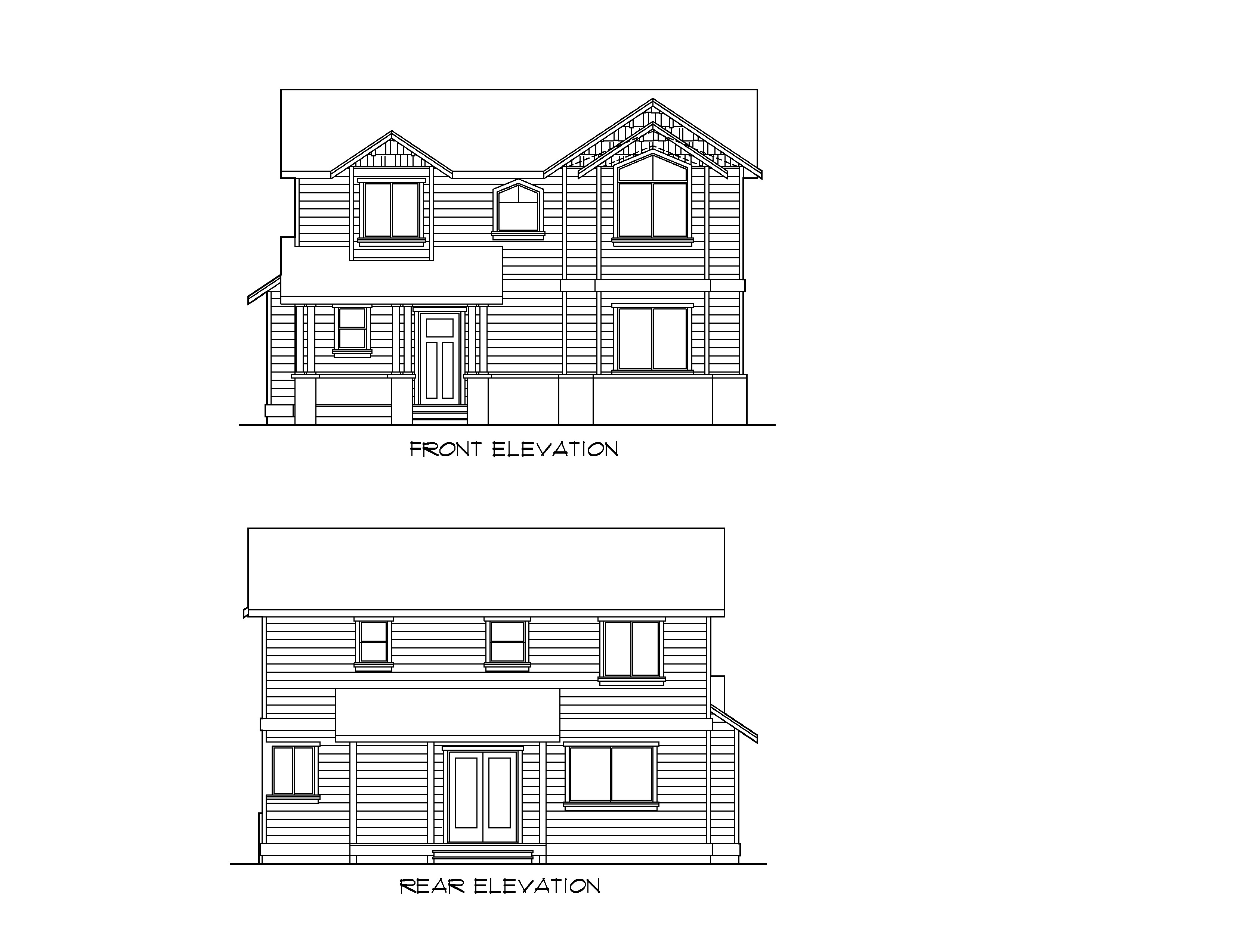 Front Elevation Sheets : New basic series